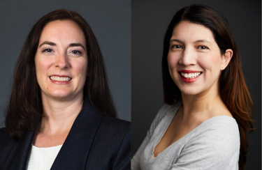 Photos of Drs. Brenna Farmer and Heather Yeo